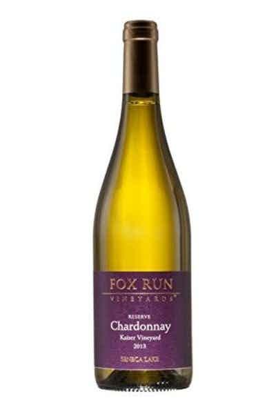 Fox Run Reserve Chardonnay