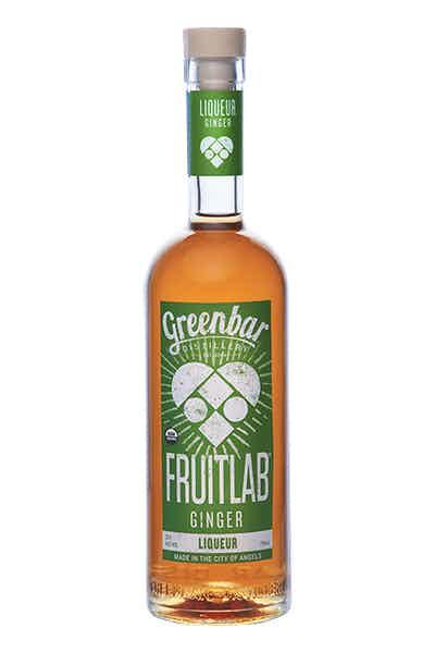 Fruitlab Ginger Liqueur from Greenbar Distillery