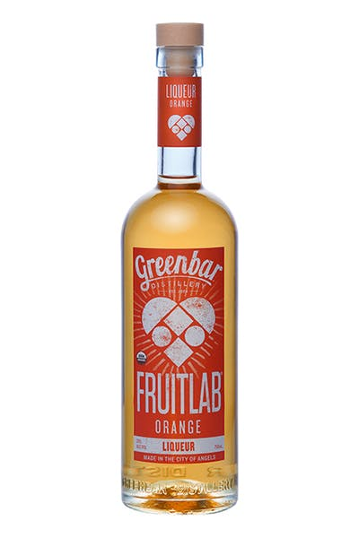 Fruitlab Orange Organic Liqueur from Greenbar Distillery