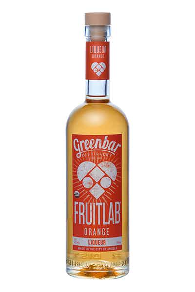Fruitlab Orange Organic Liqueur from Greenbar Distillery