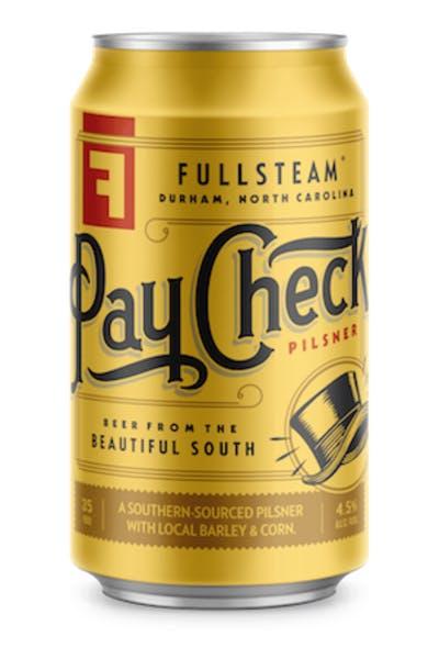 Fullsteam Paycheck Pilsner