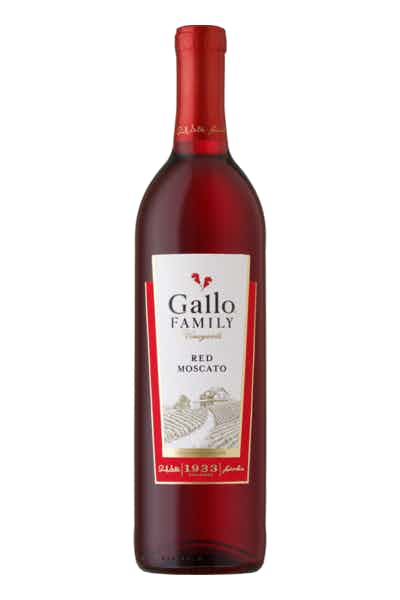 Gallo Family Vineyards Red Moscato