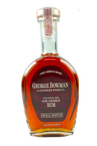 George Bowman Small Batch Dark Caribbean Rum
