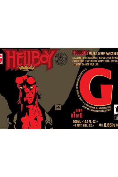 Gigantic Brewing Hellboy Beer Series
