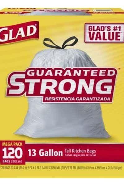 Glad Tall Kitchen Drawstring Trash Bag
