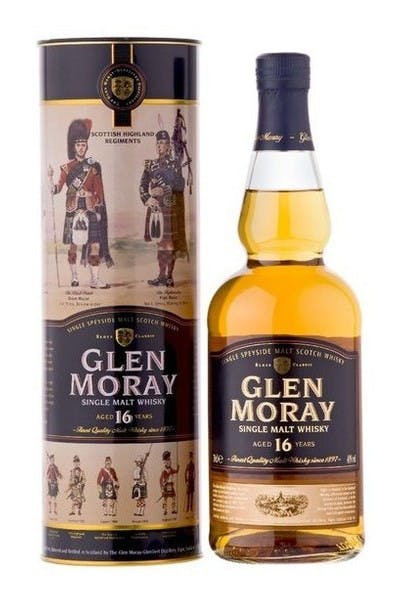 Glen Moray Scotch 16 Year