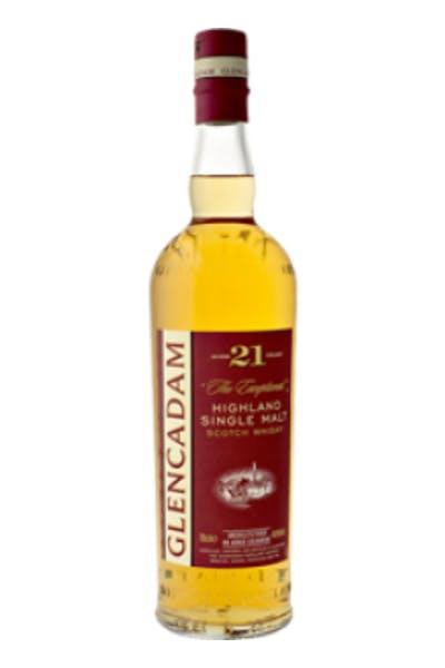Glencadam Single Malt Scotch Whiskey 21 Year