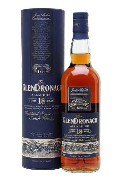 The Glendronach 18 Year Whiskey