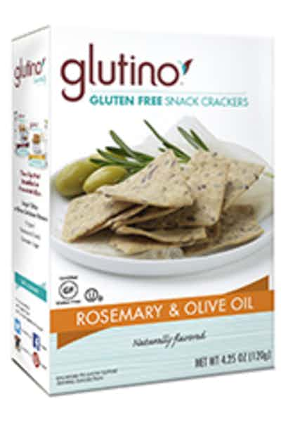 Glutino Crackers Rosemary & Olive Oil