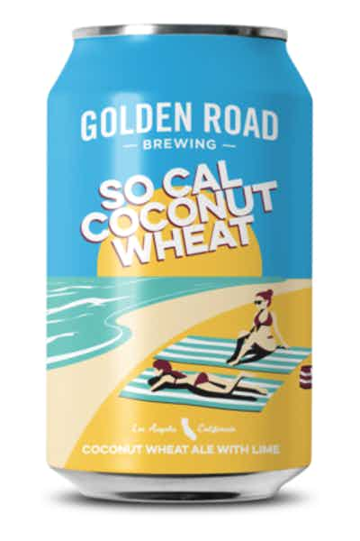 Golden Road Brewing So Cal Coconut Wheat