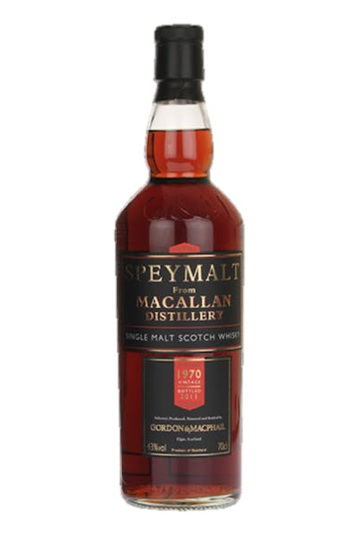 Gordon & MacPhail Speymalt by Macallan 9 Year