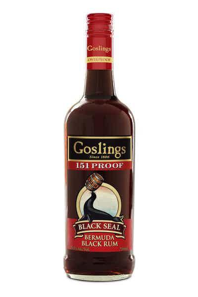 Goslings Black Seal 151 Proof Rum