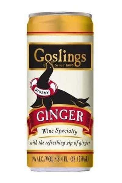 Goslings Stormy Ginger Beer 1% ABV