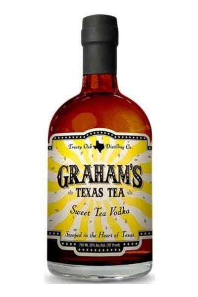 Graham's Texas Tea Vodka [discontinued]