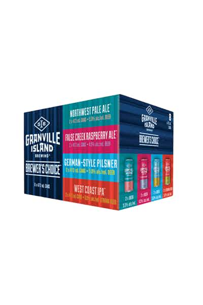 Granville Island Brewers Choice Mix Pack