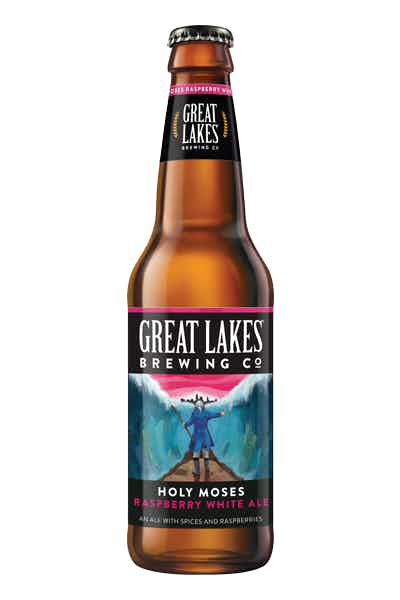 Great Lakes Holy Moses Raspberry Wheat Ale