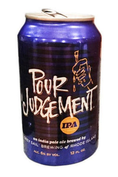 Grey Sail Pour Judgement IPA