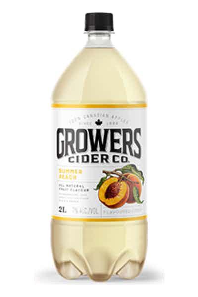 Growers Summer Peach Cider