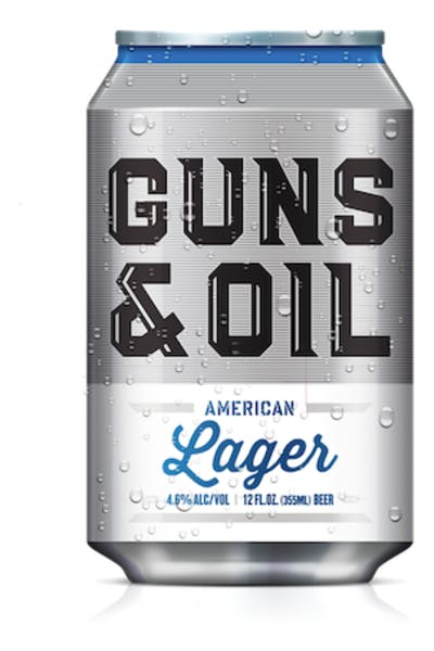 Guns & Oil American Lager