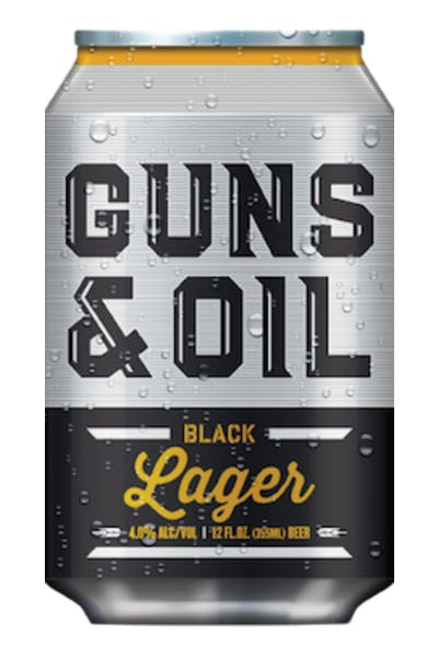 Guns & Oil Black Lager