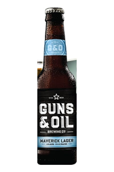 Guns & Oil Maverick Lager
