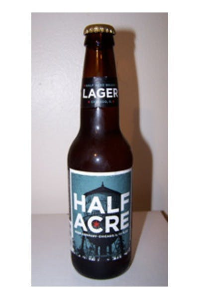 Half Acre Beer Company Lager