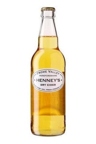 Henneys Dry Cider