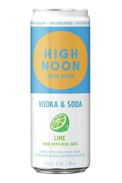 High Noon Lime Hard Seltzer