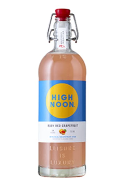 High Noon Ruby Red Grapefruit Vodka