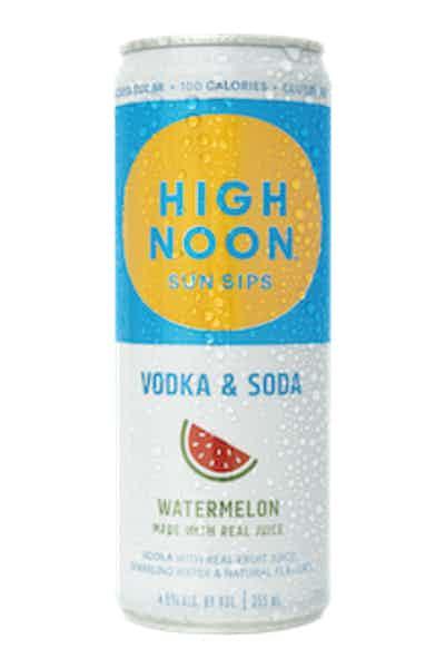 High Noon Watermelon Hard Seltzer