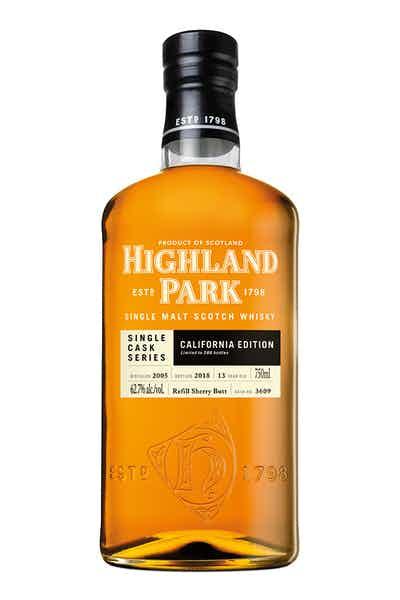 Highland Park Single Cask Series California Edition