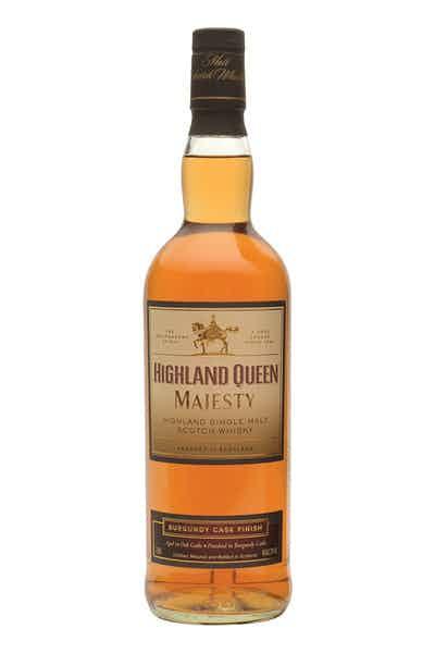 Highland Queen Majesty Burgundy Finish Single Malt
