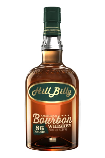Hill Billy Bourbon 86 Proof