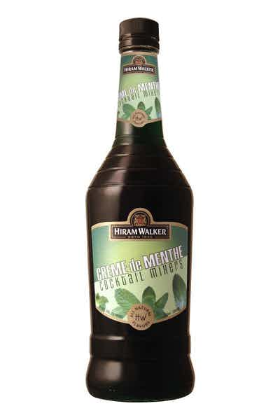 Hiram Walker Creme de Menthe Green Liqueur
