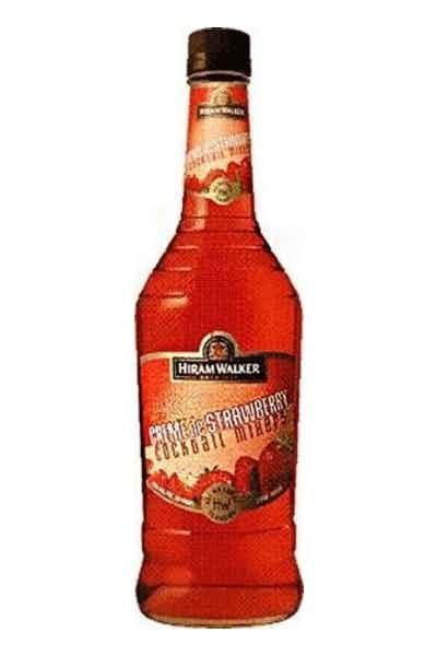 Hiram Walker Liqueur Creme De Strawberry