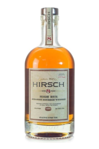 Hirsch High Rye 8 Year Bourbon