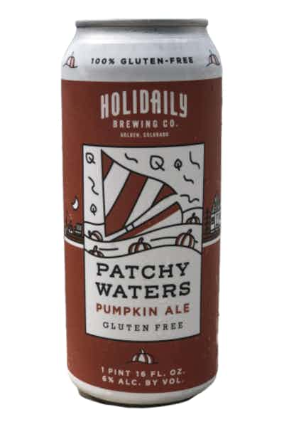 Holidaily Brewing Patchy Waters Gluten Free Pumpkin Ale