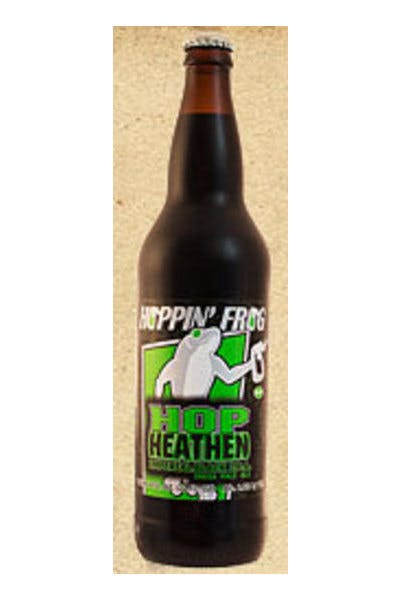 Hoppin' Frog Hop Heathen Imperial Black IPA
