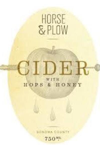 Horse & Plow Honey Hops Cider .