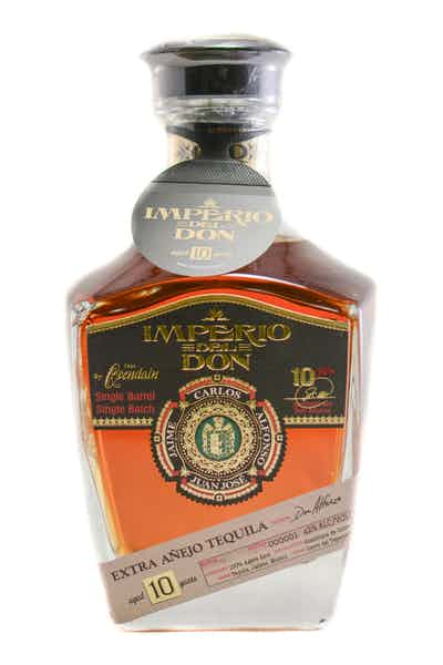 Imperio Del Don Extra Anejo Tequila 10 Year