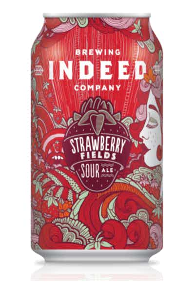 Indeed Strawberry Fields Sour Ale