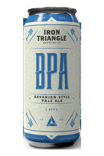 Iron Triangle Bavarian Style Pale Ale