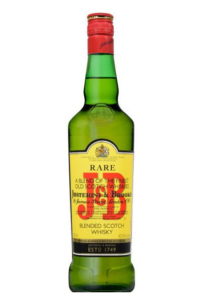 J&B Rare Blended Scotch