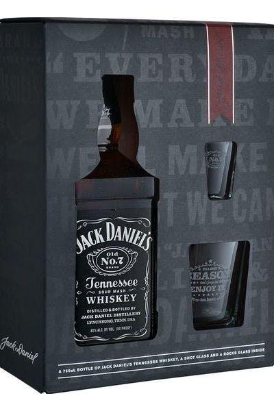 Jack Daniels Old No. 7 W/ Shot Glasses