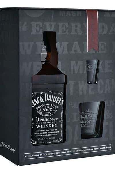 Jack Daniel's Old No. 7 W/ Shot Glasses