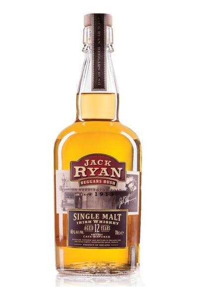 Jack Ryan 12 Yr Single Malt Irish Whiskey