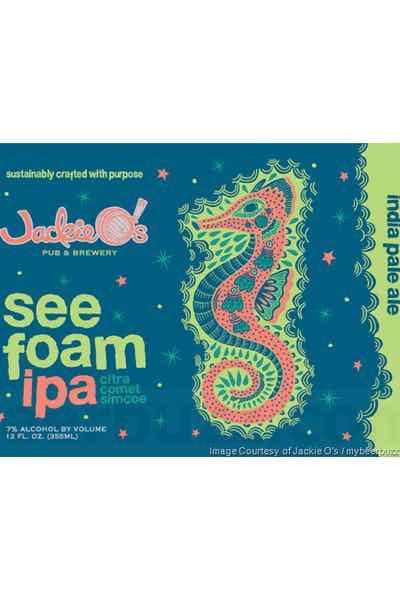 Jackie O's Sea Foam IPA