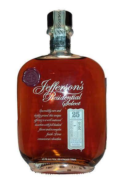 Jefferson Presidential 25 Year Bourbon