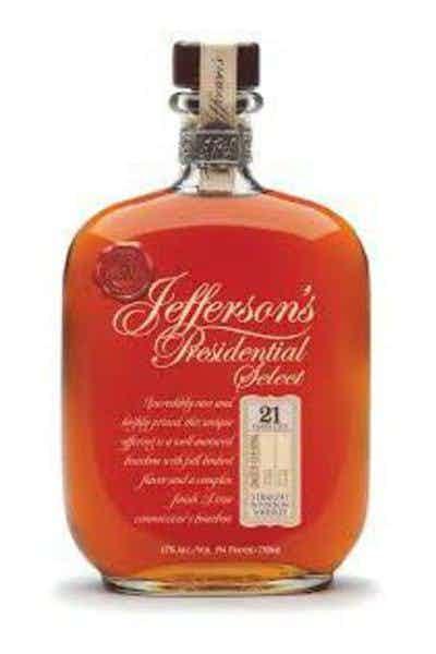 Jefferson's President Select 21 Year Rye
