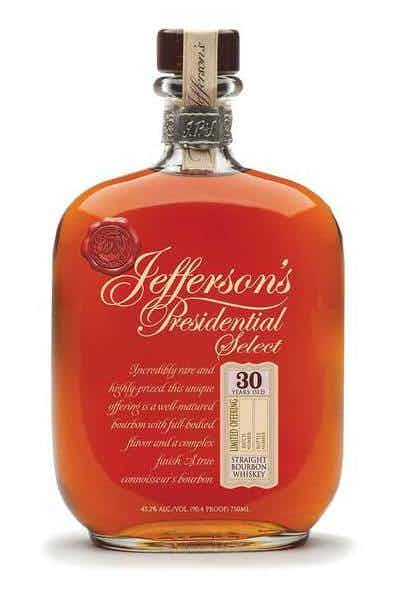 Jefferson's Presidential Select 30 Year Old Bourbon